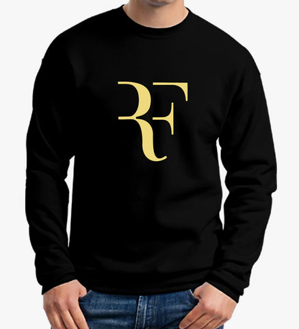 Roger Federer T Shirt Swiss World Tennis Legend Logo Sweater New Men Sweatshirt - Sport Fun Shop