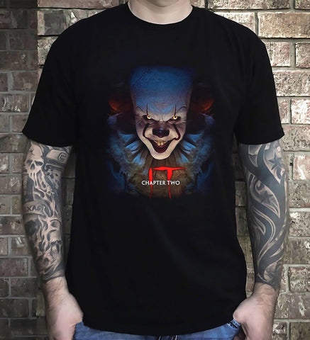It Chapter Two T-Shirt Clown Pennywise Returns Horror Halloween Gift Men T-Shirt - Sport Fun Shop
