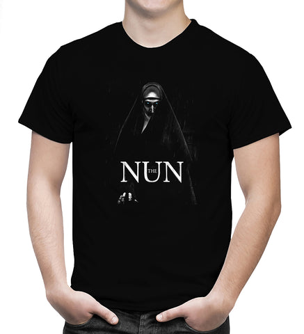 The Nun T Shirt American Horror Movie Tee New Men T-Shirt Size S-5XL - Sport Fun Shop