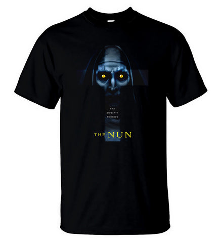 The Nun T Shirt The Conjuring Universe American Horror Film Movie Men T-Shirt