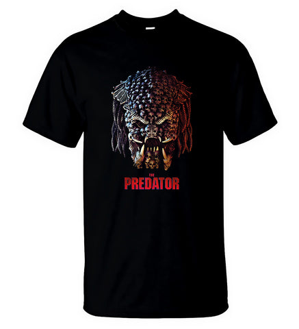 The Predator T Shirt American Horror Thriller Movie Men T-Shirt Size S-5XL - Sport Fun Shop
