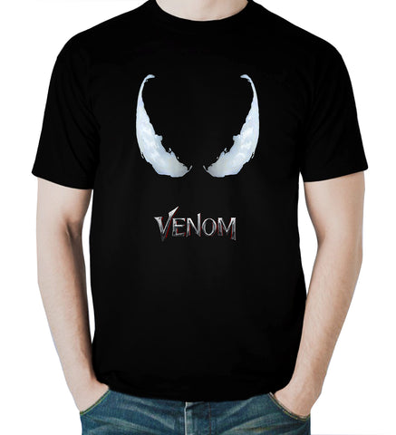 Venom T Shirt 2018 Marvel Entertainment Horror Movie Tee Men T-Shirt