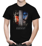 World of Warcraft T Shirt Horror Adventure Movie 2018 Men Black T-Shirt S-5XL