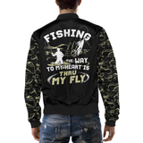 The Way To My Heart Is Through My Fly - Fishing Jacket - Sport Fun Shop