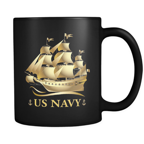 U.S Navy Mug Pride Of America US Army Coffee Mugs Tee Cup Made In USA