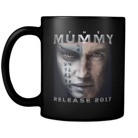 THE MUMMY 2017 Horror Movie, Tom Cruise Black Mug, Coffee Mug, Tea Cup, 11oz