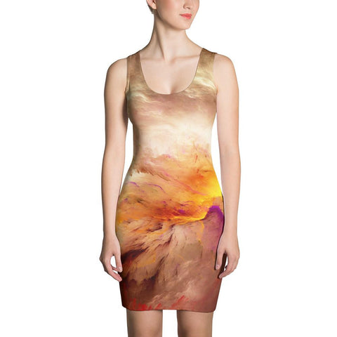 Abstract Psychedelic Fantasy Space Cut & Sew Dress - Sport Fun Shop