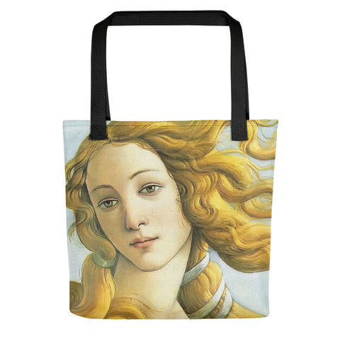 Leonardo Da Vinci Famous Paintings High Quality All Over Print Tote Bag Shopping - Sport Fun Shop