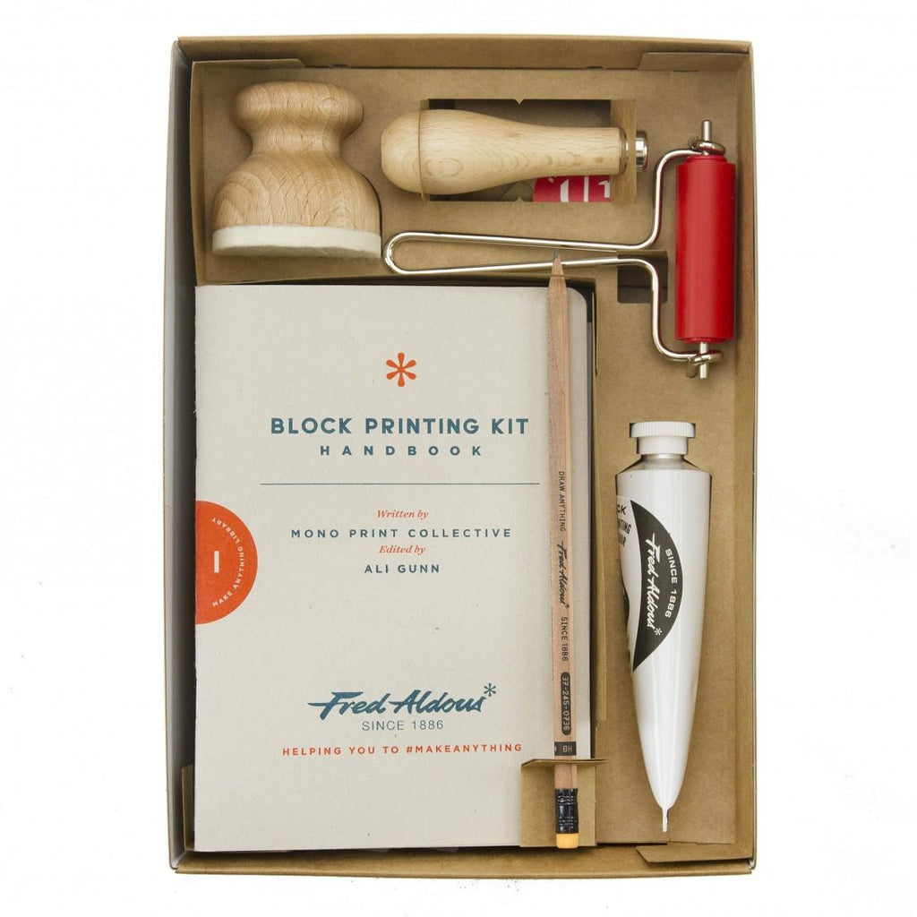 Introducing The Fred Aldous Block Printing Kit