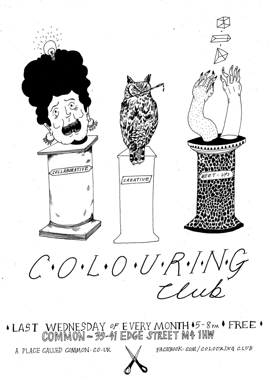 Colouring Club at Common