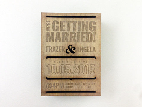 FA Studios Laser Gallery - Wedding Box