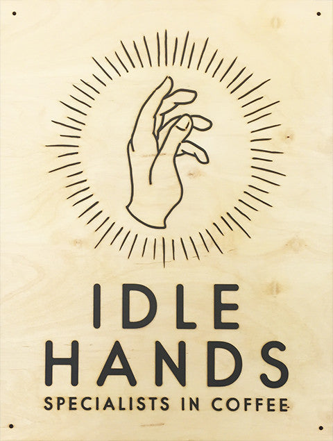 FA Studios Laser Gallery - Idle Hands