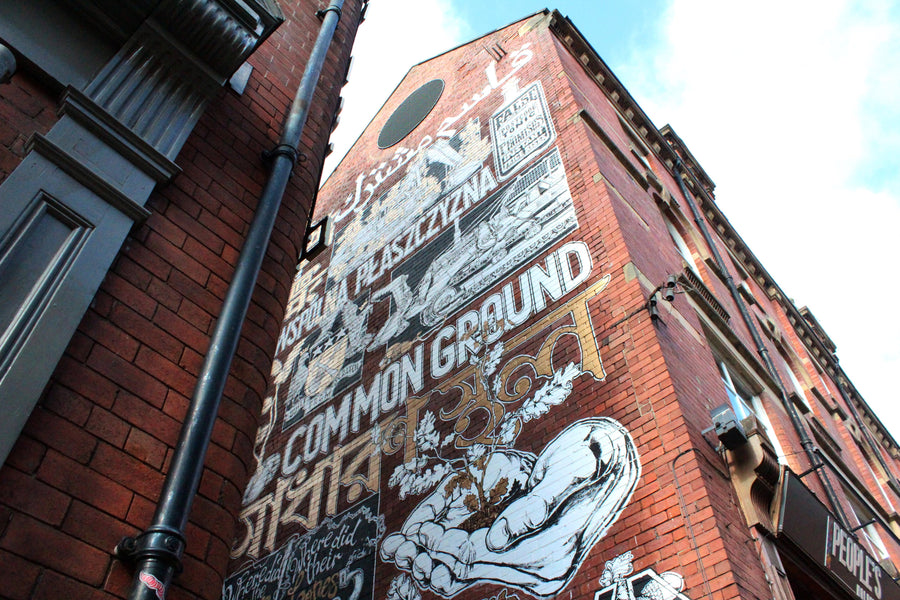 Common Ground: A Mural by Mike Winnard that Explores the History of Kirkgate