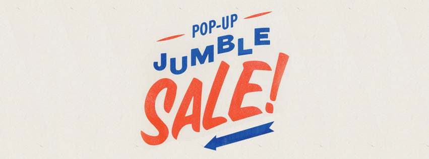 The Fred Aldous Pop-up Jumble Sale