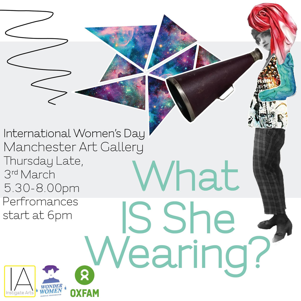 Instigate Arts - What Is She Wearing