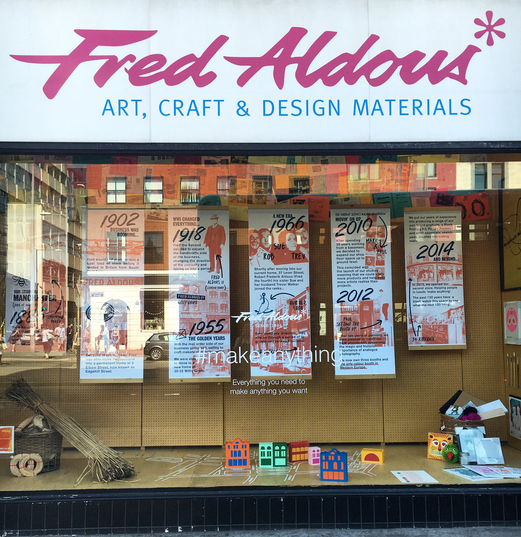 Fred Aldous A Brief History