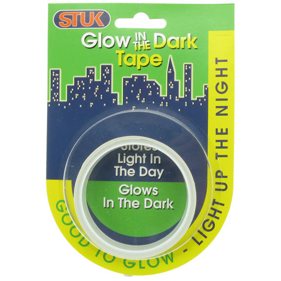 Glow-in-the-Dark Tape Green 20mm x 1m