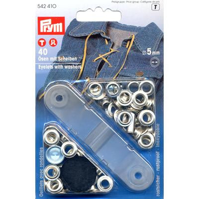 Eyelets+Washers 5mm N/P