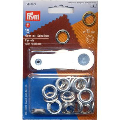 Eyelets+Washers 11mm N/P