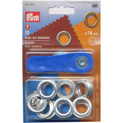 Eyelets+Washers 14mm N/P