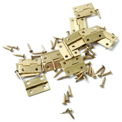 Butt Hinges 19mm 12 Pk