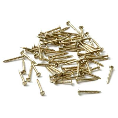 Pin Packs 10mm long brass
