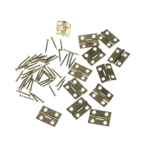 Butt Hinges 15mm 12 Pk