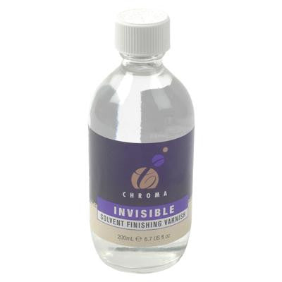Chroma Invisible Solvent Finishing Varnish 200ml