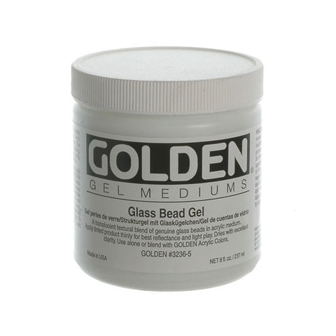 Golden 236ml Glass Bead Gel (new)