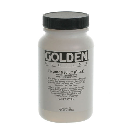 Golden 236ml Polymer Medium