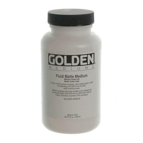 Golden 236ml Fluid Matte Medium