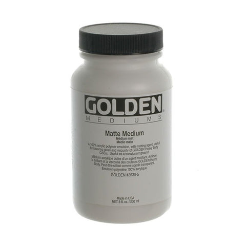 Golden 236ml Matte Medium