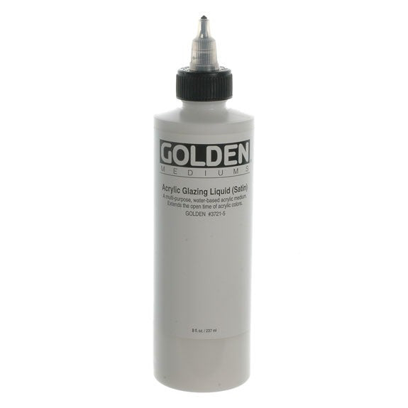 Golden 236ml Acrylic Glaz Liquid Satin