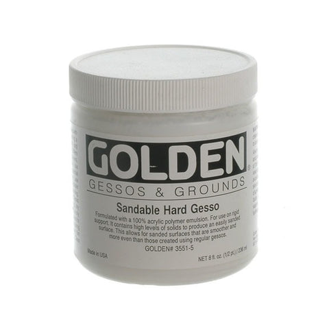 Golden 236ml Sandable HaRed Gesso