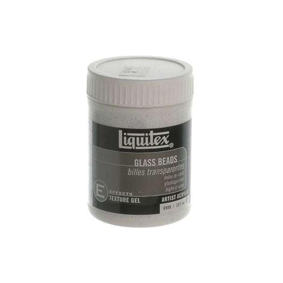 Liquitex Texture Medium Glass Beads 237ml 6908