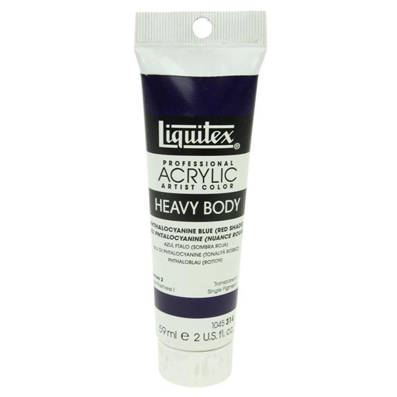 Liquitex Heavy Body 59ml Phthalo Blue Red shade