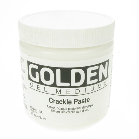 Golden 236ml Crackle Paste