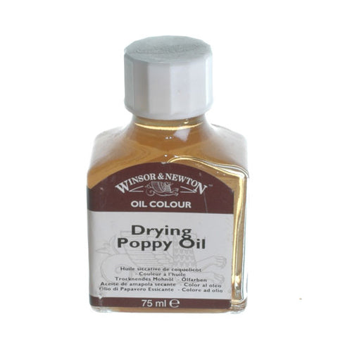W&N - Drying Poppy Oil 75ml