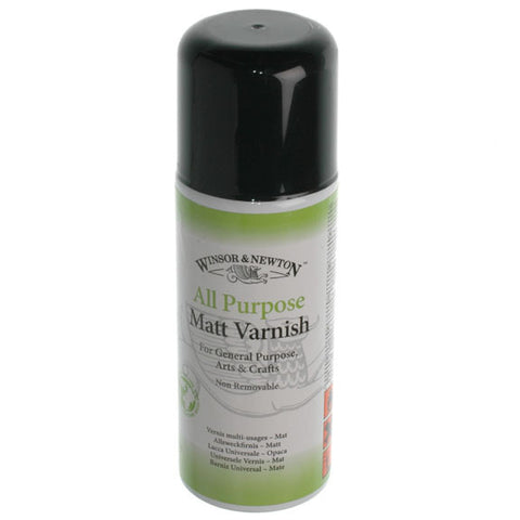 W&N - All Purpose Matt Varnish 150ml can