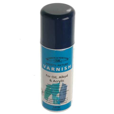 W&N - Artists' Satin Varnish 400ml can