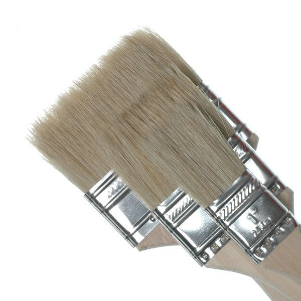 Royal Pure Bristle Brushes 3Pk