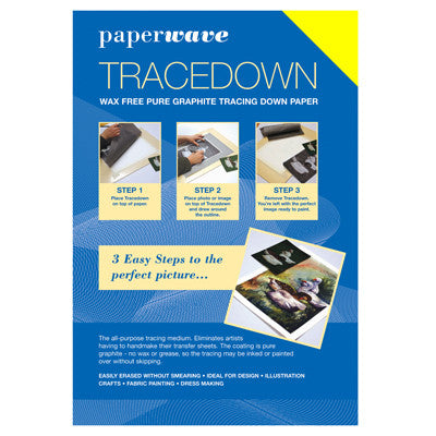 Tracedown Yellow A3 - 1 Pk