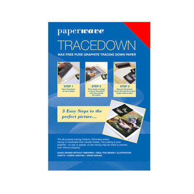 Tracedown Red A4 - 1 Pk