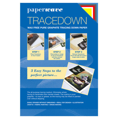 Tracedown Assorted A3 - 5 Pk