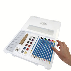Royal Small Clear Case Art Sets - Watercolour Drawing