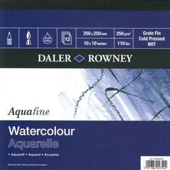 Daler Rowney Watercolour Aquafine Pads