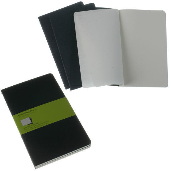 Moleskine Cashier Large Plain 3 Pack