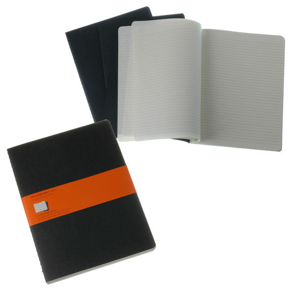 Moleskine Cashier X Large Ruled 3 Pack