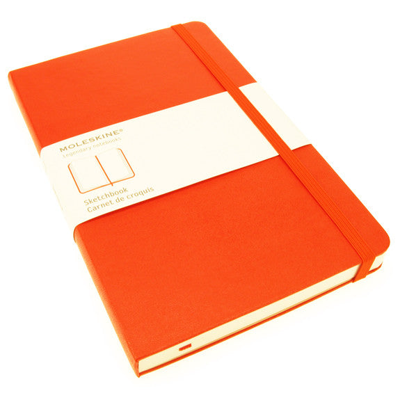 Moleskine Large Sketchbook Red Cover