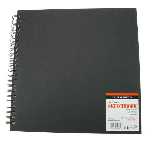 Daler Rowney Graduate Sketchbook Value - 304mm x 304mm